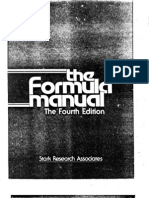 The Formula Manual