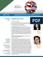 2017 IPCC Fall-Winter Newsletter Issue