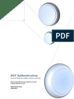 DGT Authentication