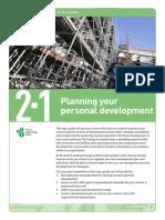 Personal Development Plan Long Tutorial