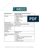 WECC Variable Generation Planning