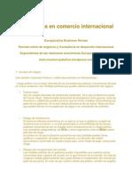 Gestión de riesgos en comercio internacional