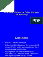 Kuliah-07-Aktualisierung Am 07.04.2009-Kandungan Karbohidrat Dalam Makanan Dan Analisisnya