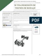 Sistemas de Transmisión de Fuerzas y Tr...e Rodaje_ Grupo Reductor y Diferencial