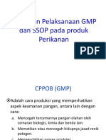 GMP Dan SSOP Pada Produk Perikanan