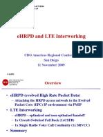 EHRPD-LTE Interworking CDG Amer Reg Conf - 11-11-2009 (R1) Merged TSGs