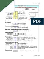 Seimic Design Calculation