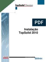 Instalação TopSolid 2010