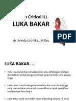 7. Asuhan Critical Ill Luka Bakar