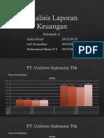 Presentasi Analisis Laporan Keuangan