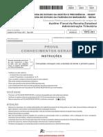 Pv Auditor Fiscal Conhec Gerais