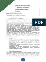 Diseño y Desarrollo de Proyectos Diaz Felix