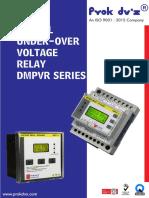 Digital Over Voltage _ Under Voltage Relay