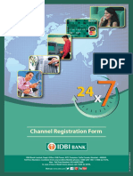 Channel Registration Form A4