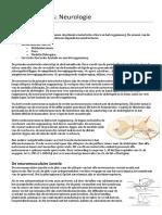 Fysiologie van het Zenuwstelsel