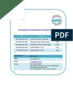 training schedule_20nov09