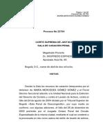 Carga Dinámica de La Prueba -Lavado de Activos - Sentencia CSJ 23754(09/04/08)