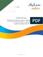 SABIC Chile Policarbonato Alveolar Ficha Tecnica 20131008