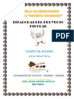 Bitacora Proyectos Escolares 2016 Siiii