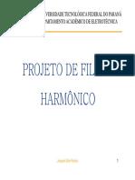 Qualidade 05 Projeto de Filtro