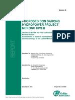 Annex G Sediment Report