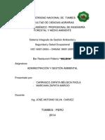 SISTEMA  DE INTEGRADO DE GESTION.docx
