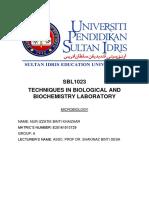 sbl-report5 microbilogy