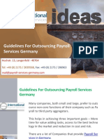 Guidelines for Outsourcing Payroll Services Germany
