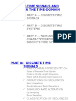 Discrete Time Signals System & Time Domain Characterization