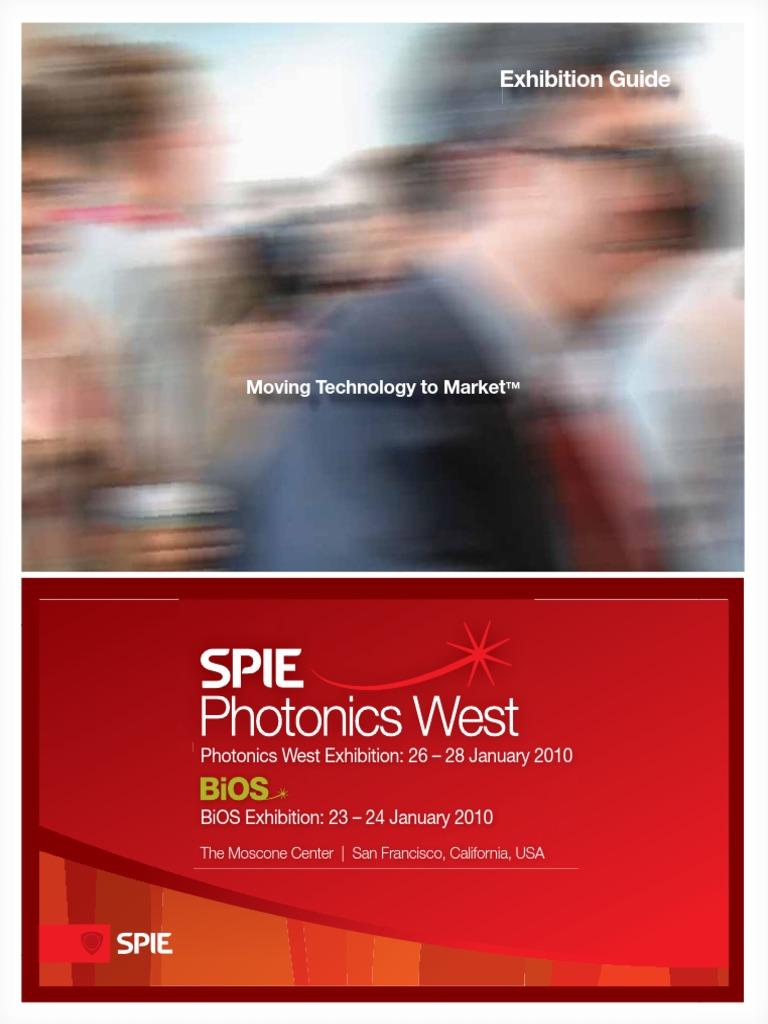 PW10 Exhibit Guide L | Spie | Photonics on