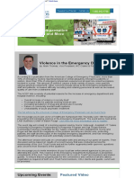wc newsletter -violence-in-the-emergency-department