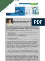 gl newsletter - environmental-risks-and-hazards