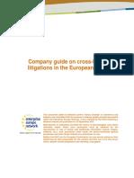 Cross-border Litigation en. Final Gda1