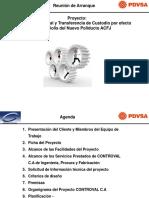 PRESENTACIÓN REUNIÓN DE ARRANQUE  055 rev c.ppt