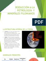Introducción a La Petrología y Minerales Filonianos