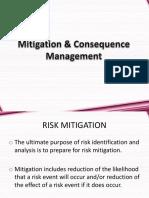 Mitigation Consequence Managem