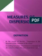 3 Dispersion