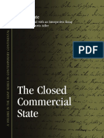 (Suny Series in Contemporary Continental Philosophy) Adler, Anthony Curtis_ Fichte, Johann Gottlieb-The Closed Commercial State-State University of New York Press (2012).pdf