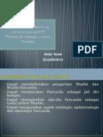 Demokrasi di Indonesia menurut perspektif Pancasila sebagai sistem filsafat (fixed).ppt