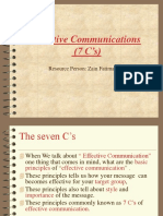 7cs of Communication Imp
