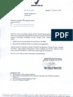 Surat Edaran Penggunaan Fasilitas Bersama