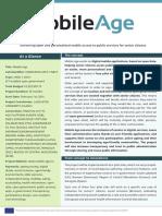 Mobile Age Project - Factsheet