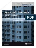 2017 11 Realtors Confidence Index 12-20-2017