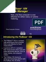 FloBoss104 Overview