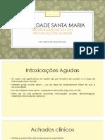 Aula Intoxicações Agudas PDF