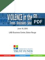 violence in ed - agenda black ink