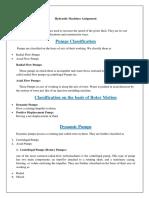 Assignment of HMC
