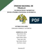 Informe Automatas Celulares 2.0