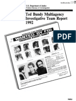 Ted Bundy Multiagency Investigative Team Report 1992 From Tedbundy.com