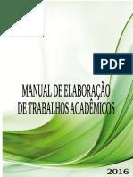 Manual de Elaboracao de Trabalhos Acadêmicos